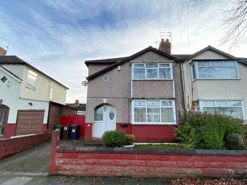 3 Bedrooms Semi Detached House for sale in Moss Lane, Litherland