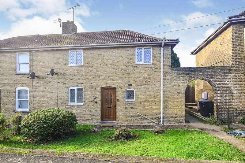3 Bedrooms Semi Detached House for sale in Milner Crescent, Aylesham, Canterbury, Kent, CT3