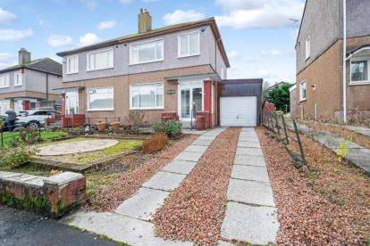 3 Bedrooms Semi Detached House for sale in Rowanpark Drive, Barrhead, Glasgow, East Renfrewshire