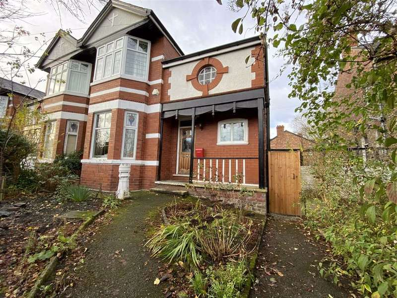 4 Bedrooms Semi Detached House for sale in Egerton Road North, Chorlton