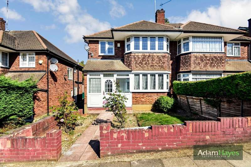 3 Bedrooms Semi Detached House for rent in Laurel View, Totteridge, N20