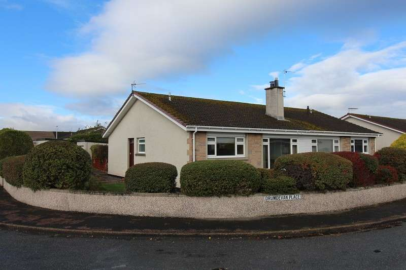 3 Bedrooms Semi Detached Bungalow for sale in 28 Drumdevan Place, Lochardil, Inverness, IV2 4DQ