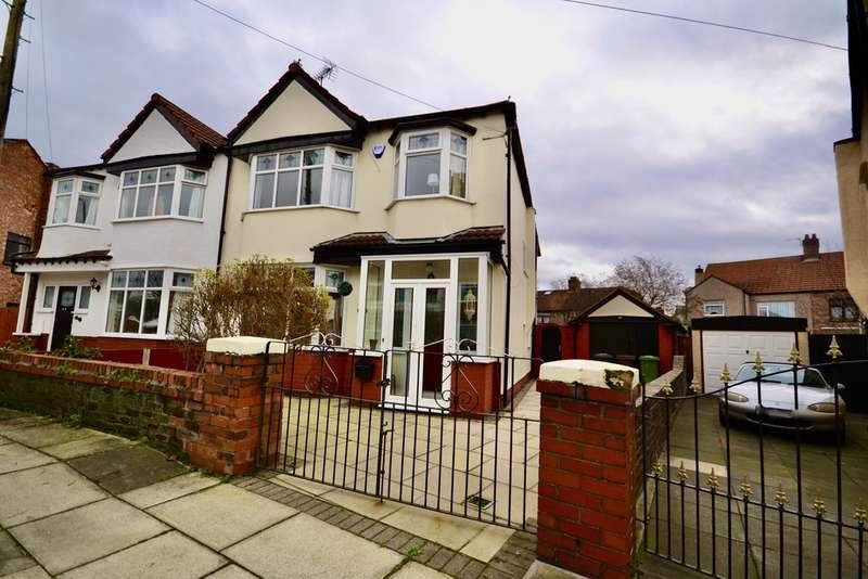 4 Bedrooms Semi Detached House for sale in Duddingston Avenue, Liverpool, L23