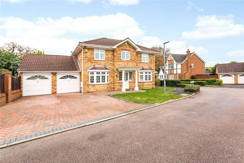 4 Bedrooms Detached House for sale in Mitchell Close, Abbots Langley, Hertfordshire, WD5