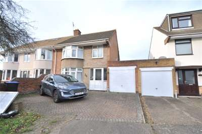 3 Bedrooms Semi Detached House for rent in Cotswold Avenue, Northampton, NN5