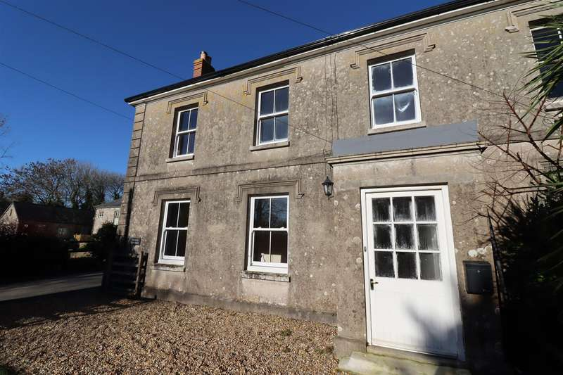 4 Bedrooms Semi Detached House for sale in Probus, Truro