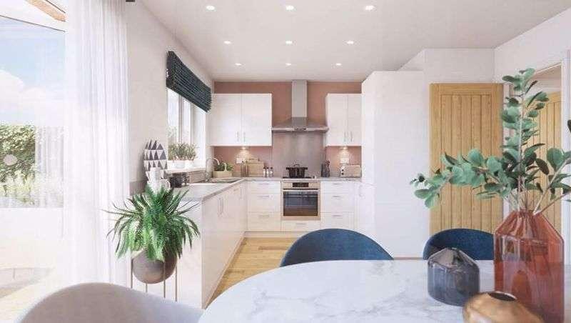 4 Bedrooms Property for sale in Plot 8, The Bamburgh @ Hazel Green, Bowerham Road, Lancaster