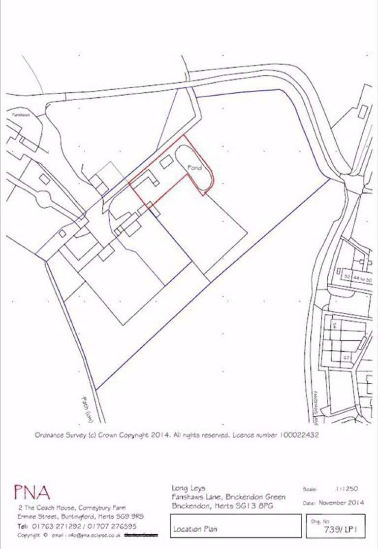 Property for sale in Fanshaws Lane, Brickenden, Hertfordshire