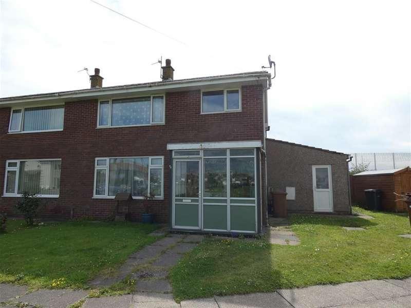 3 Bedrooms Semi Detached House for sale in Bank Head, Haverigg, Millom, LA18 4LZ