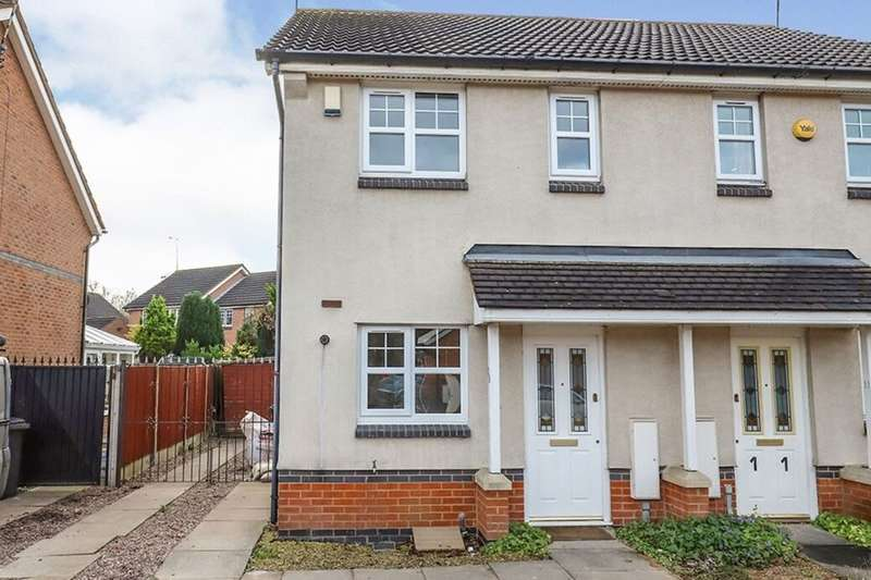 2 Bedrooms Semi Detached House for rent in The Chase, Wolverhampton, WV6