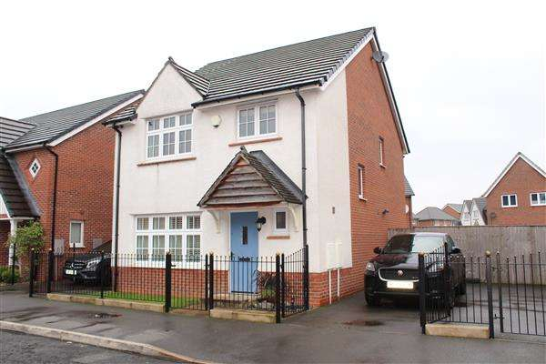 4 Bedrooms Detached House for sale in Brodick Street, Manchester