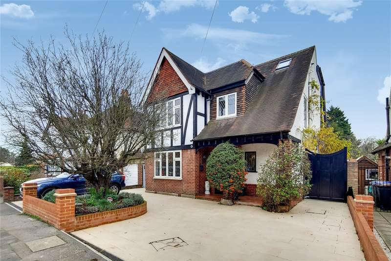 5 Bedrooms Link Detached House for sale in Stepgates, Chertsey, Surrey, KT16