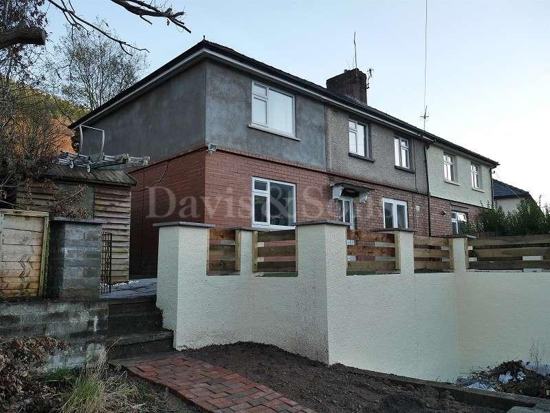 5 Bedrooms Semi Detached House for sale in Garden Suburbs, Pontywaun, Cross Keys, Newport. NP11