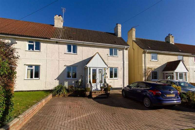 2 Bedrooms Semi Detached House for sale in Northfields, Stinchcombe, Dursley, GL11