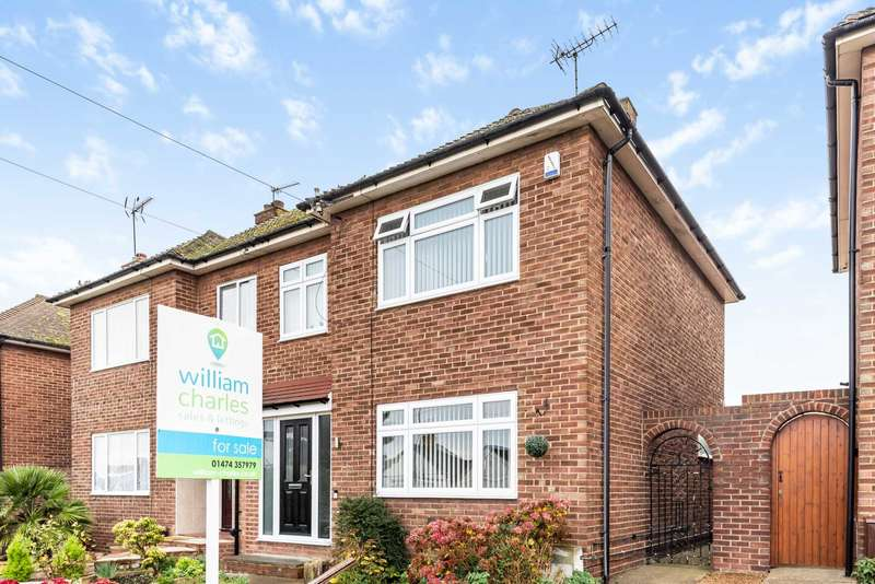 3 Bedrooms Semi Detached House for sale in Lower Higham Road, Gravesend