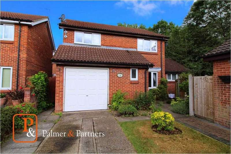 4 Bedrooms Detached House for sale in Columbine Mews, Stanway, Colchester, CO3