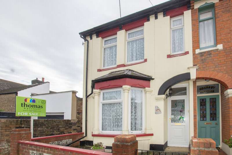 2 Bedrooms End Of Terrace House for sale in Alfred Road, Dover, CT16