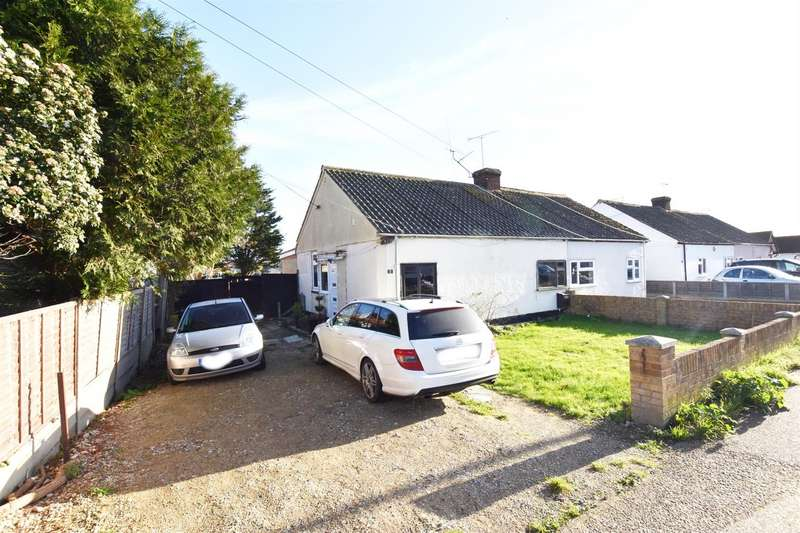 2 Bedrooms Semi Detached Bungalow for sale in Hawkesbury Road, Canvey Island
