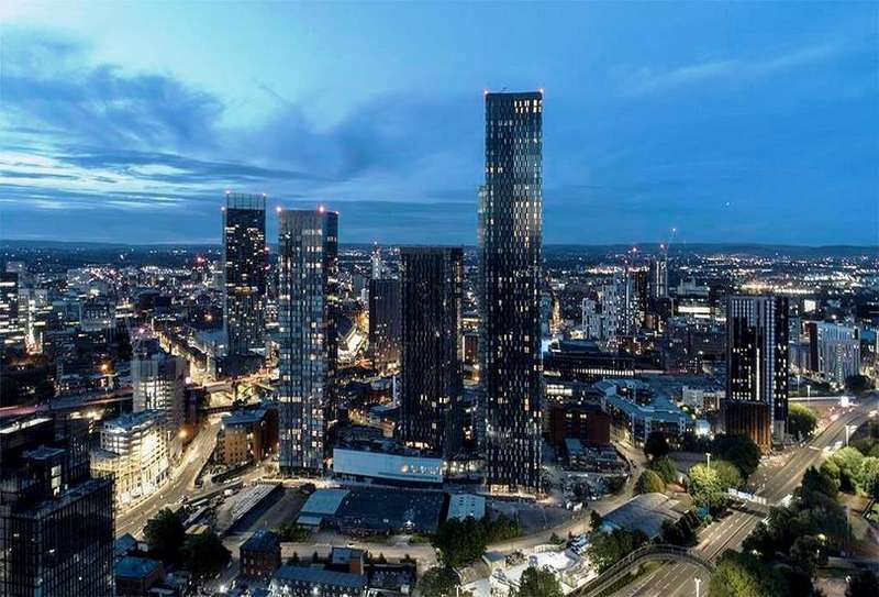 3 Bedrooms Property for sale in Manchester Penthouses For Sale United Kingdom , Greater Manchester , Manchester
