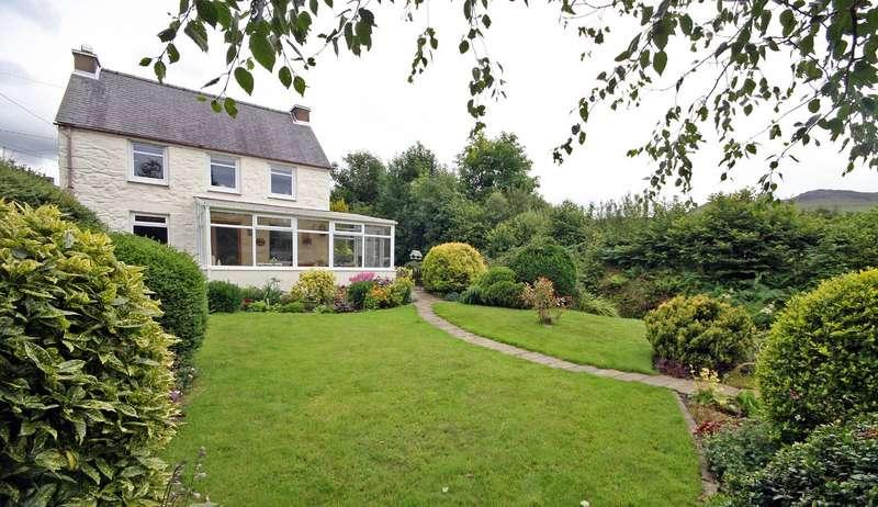 3 Bedrooms Detached House for sale in Tai'n Lon, Clynnogfawr, Caernarfon, LL54