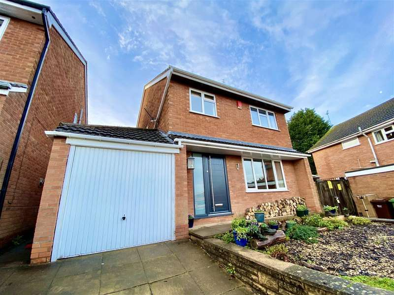 4 Bedrooms Detached House for sale in Woodthorpe Drive, Bewdley