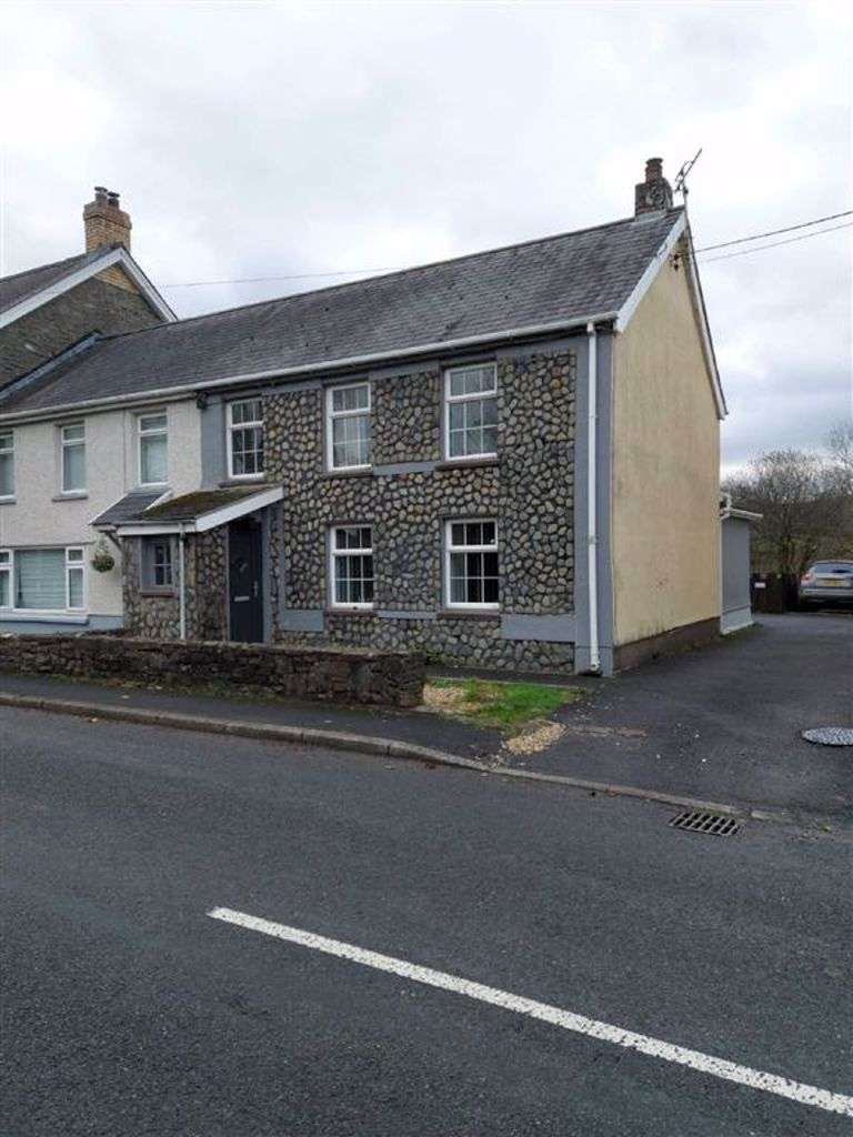 3 Bedrooms End Of Terrace House for sale in Bronwydd Arms, Carmarthen
