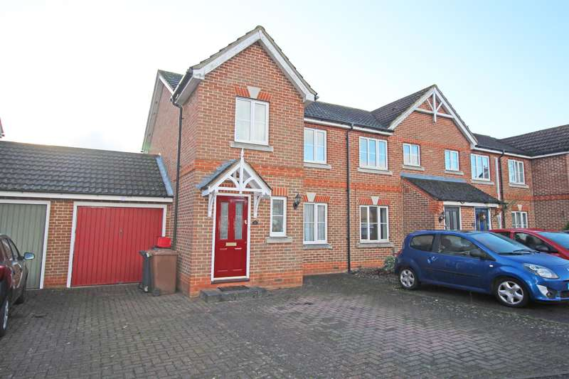 3 Bedrooms End Of Terrace House for sale in Old Bourne Way, Stevenage, SG1 6AE