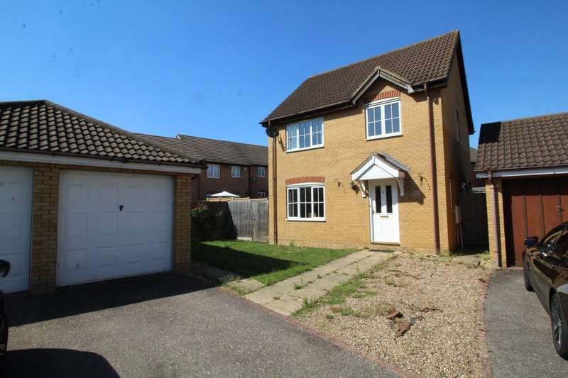 3 Bedrooms Detached House for sale in Embla Close, Bedford, Bedfordshire, MK41