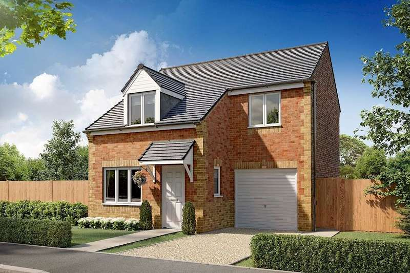 3 Bedrooms Semi Detached House for sale in Plot 138, Woodford, Moorside Place, , Valley Drive, Carlisle, CA1