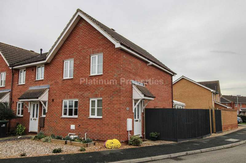 3 Bedrooms Semi Detached House for rent in Briars End, Witchford