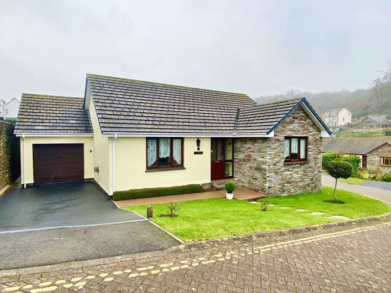 3 Bedrooms Detached Bungalow for sale in Drapers Close, Combe Martin