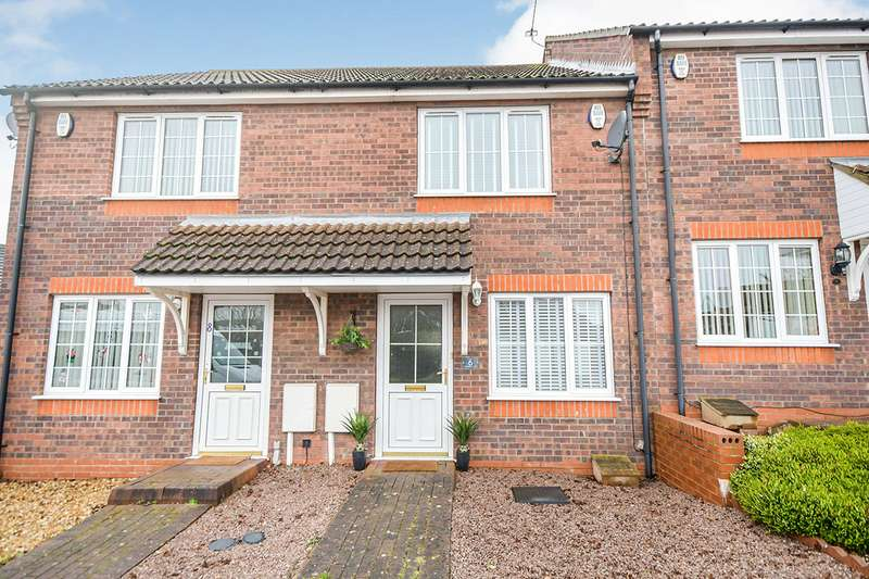 2 Bedrooms House for sale in Blackfriars Court, Lincoln, Lincolnshire, LN2
