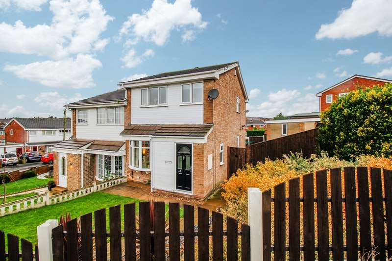 3 Bedrooms Semi Detached House for sale in Rochester Road, Barnsley, South Yorkshire, S71