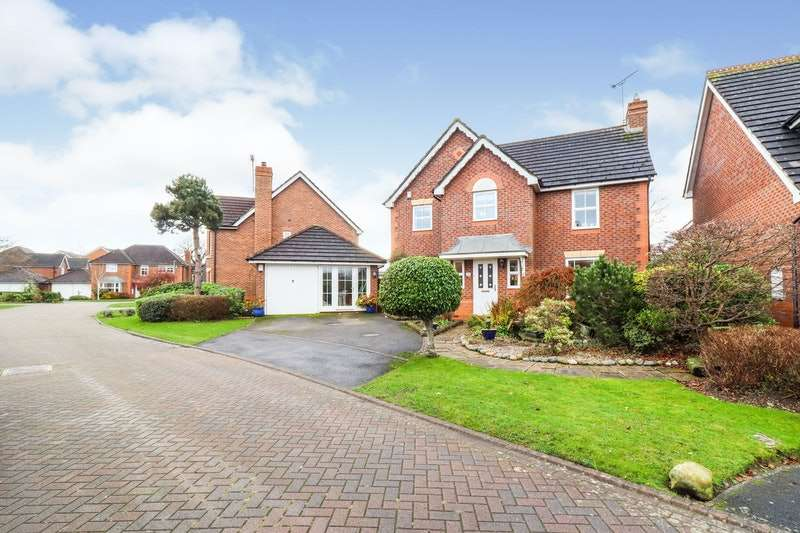 4 Bedrooms Detached House for sale in Tinkersfield, Nantwich, Cheshire, CW5