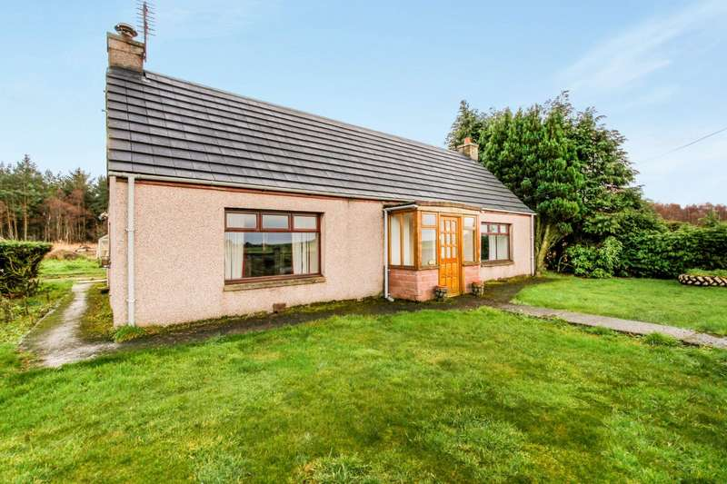 2 Bedrooms Detached Bungalow for sale in Muir of Lochs, Garmouth, Fochabers, Moray, IV32