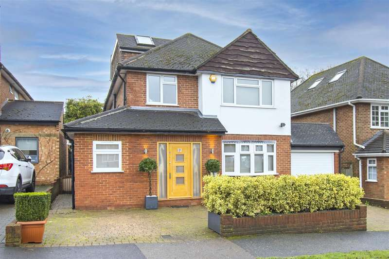 5 Bedrooms Detached House for sale in Craigweil Avenue, Radlett