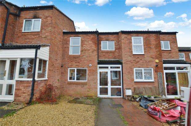 3 Bedrooms Terraced House for sale in Gaunton Close, Taunton, Somerset