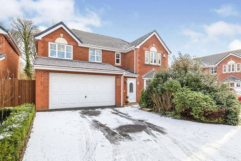 4 Bedrooms Detached House for sale in The Heritage, Leyland, Lancashire, PR25