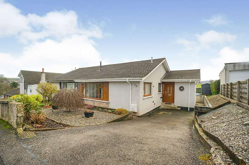 3 Bedrooms Semi Detached Bungalow for sale in Grant Crescent, Maryburgh, Dingwall, Highland, IV7