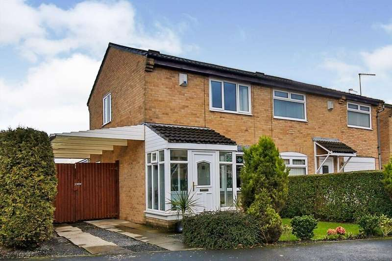 2 Bedrooms Semi Detached House for sale in Sheridan Green, Rickleton, Washington, NE38