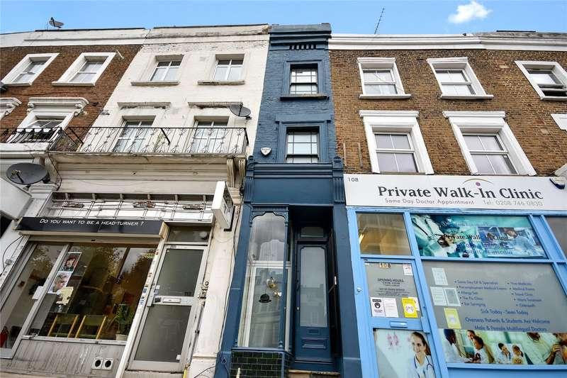 2 Bedrooms Terraced House for sale in Goldhawk Road, Shepherds Bush, London, W12
