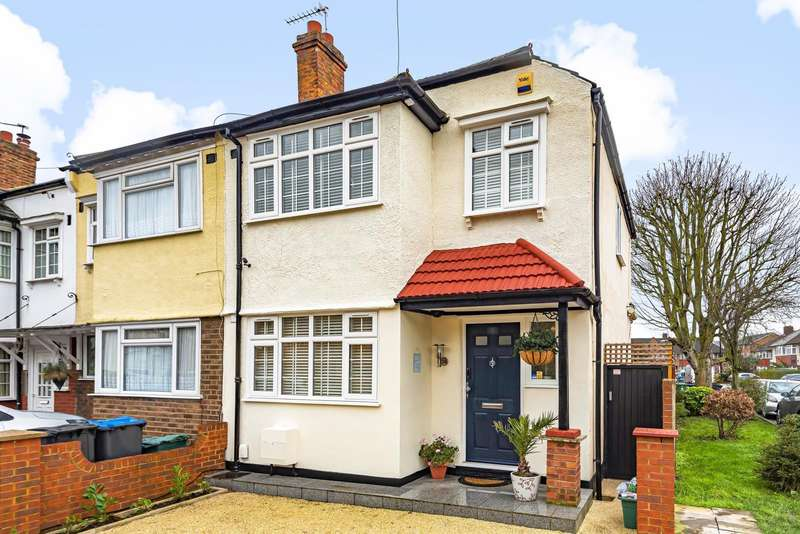 3 Bedrooms End Of Terrace House for rent in Cromwell Avenue, New Malden, KT3