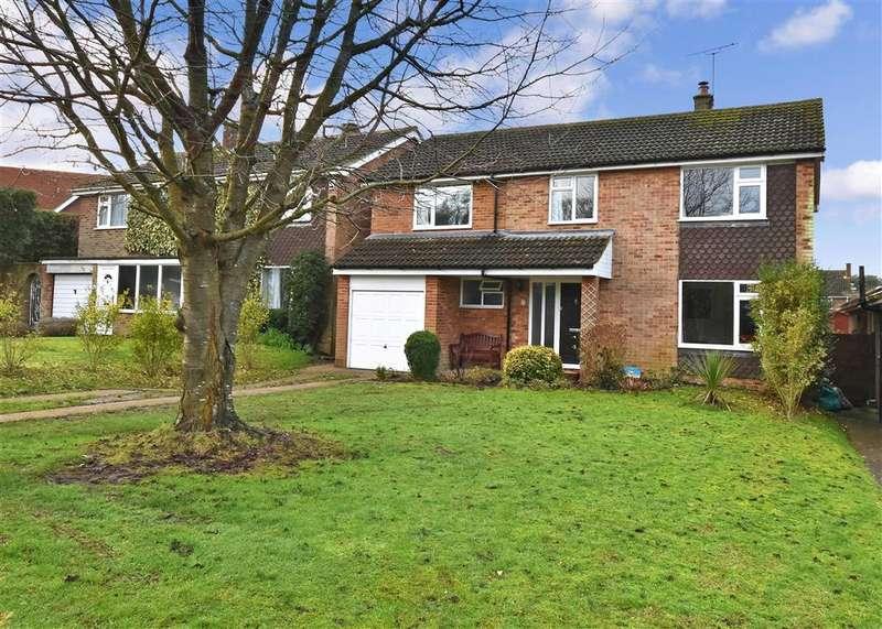 5 Bedrooms Detached House for sale in Bridge Down, , Bridge, Canterbury, Kent