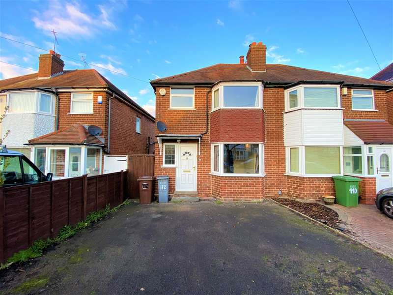 3 Bedrooms Semi Detached House for rent in Newborough Road, Solihull