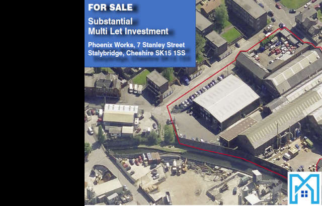 Business Park Commercial for sale in Phoenix Works, 7 Stanley Street, Stalybridge, Cheshire