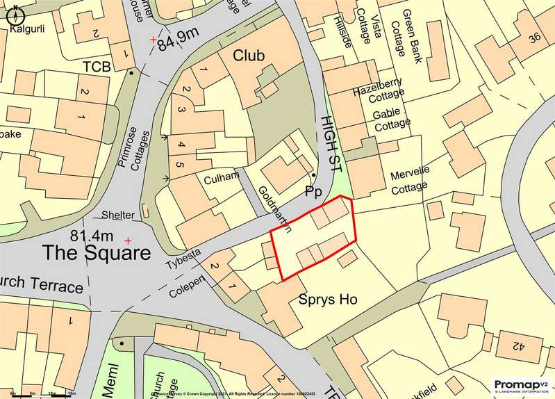Land Commercial for sale in The Square, Probus