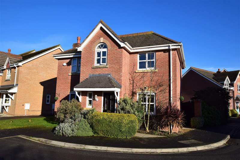 4 Bedrooms Detached House for sale in Osier Fields, East Leake, Loughborough