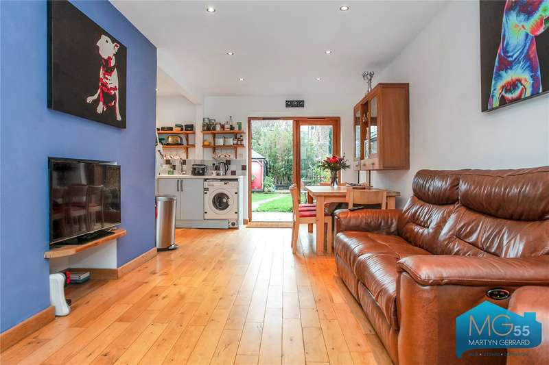3 Bedrooms Terraced House for sale in Boyton Close, Hornsey, London, N8