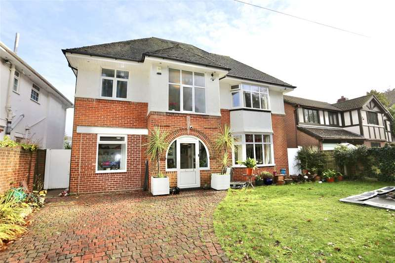 4 Bedrooms Detached House for sale in Woodland Avenue, Bournemouth, BH5