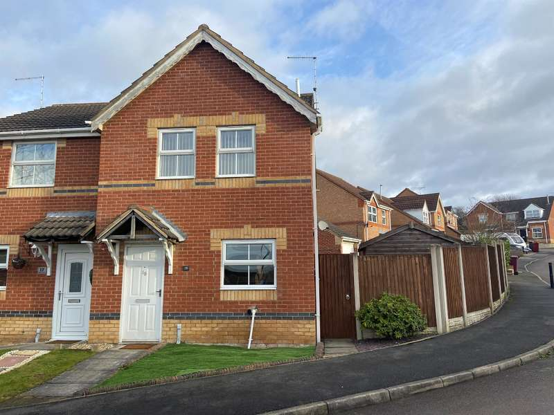 3 Bedrooms Semi Detached House for rent in Merlin Avenue, Bolsover, Chesterfield, S44 6QF